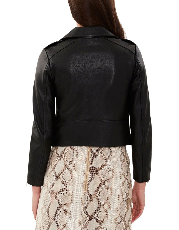 All Day Black Leather Jacket image 5