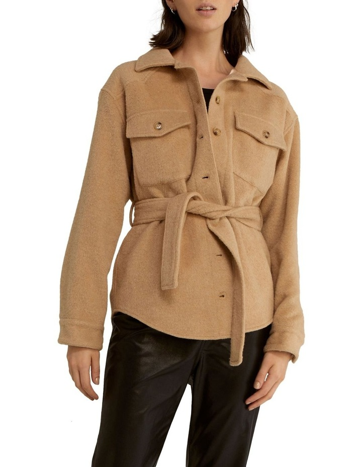 Trucker Wool Jacket image 1