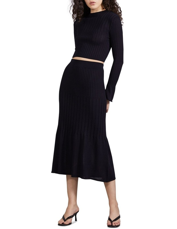 Flare Out Knit Skirt image 4