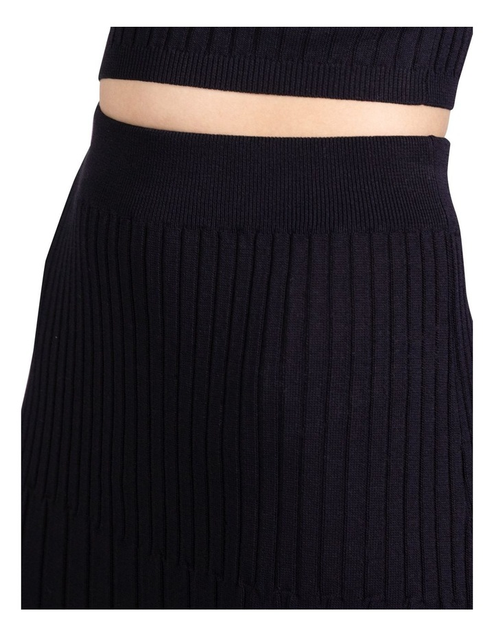 Flare Out Knit Skirt image 6
