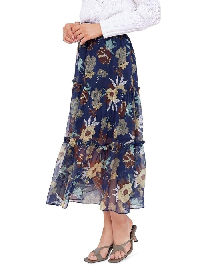 Valentine Silk Midi Skirt image 2