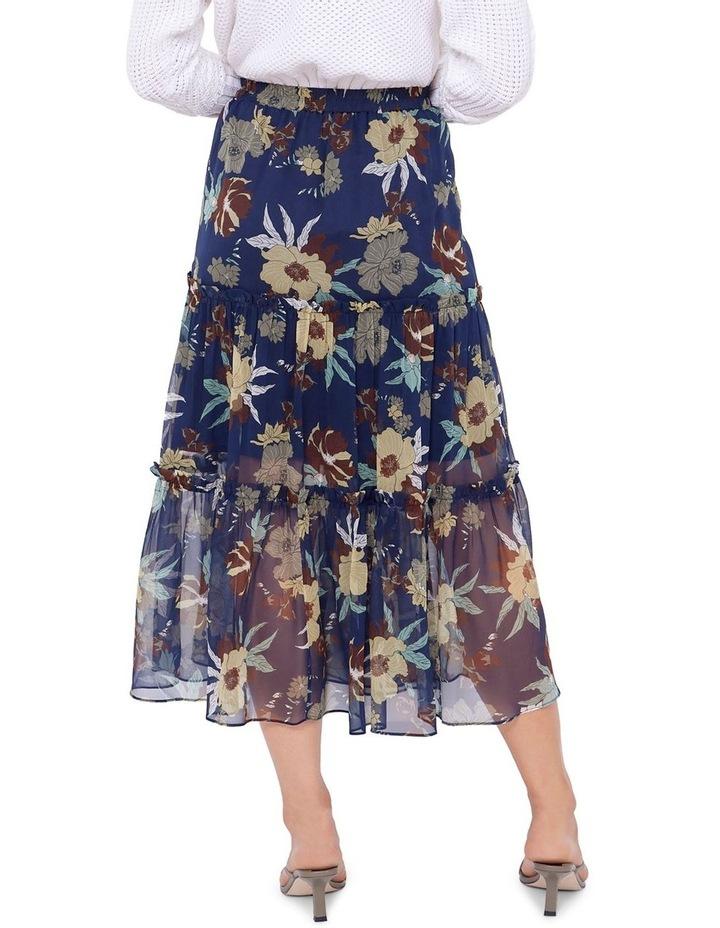 Valentine Silk Midi Skirt image 3