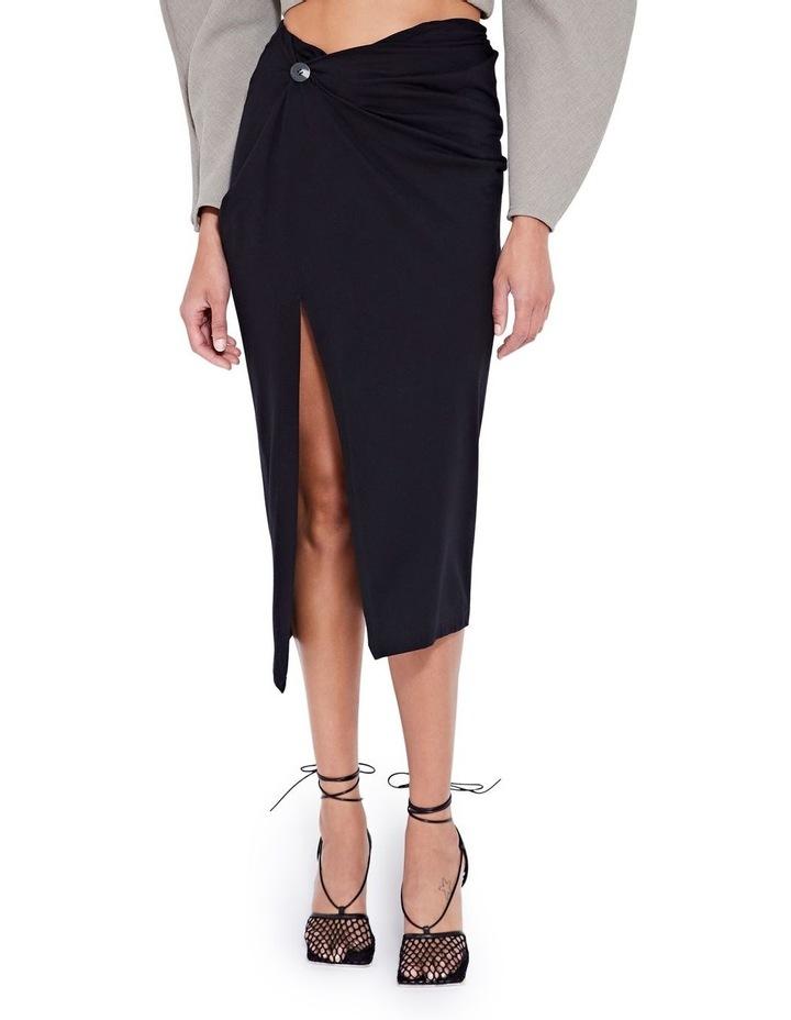 Laurel Twist Skirt Black image 1
