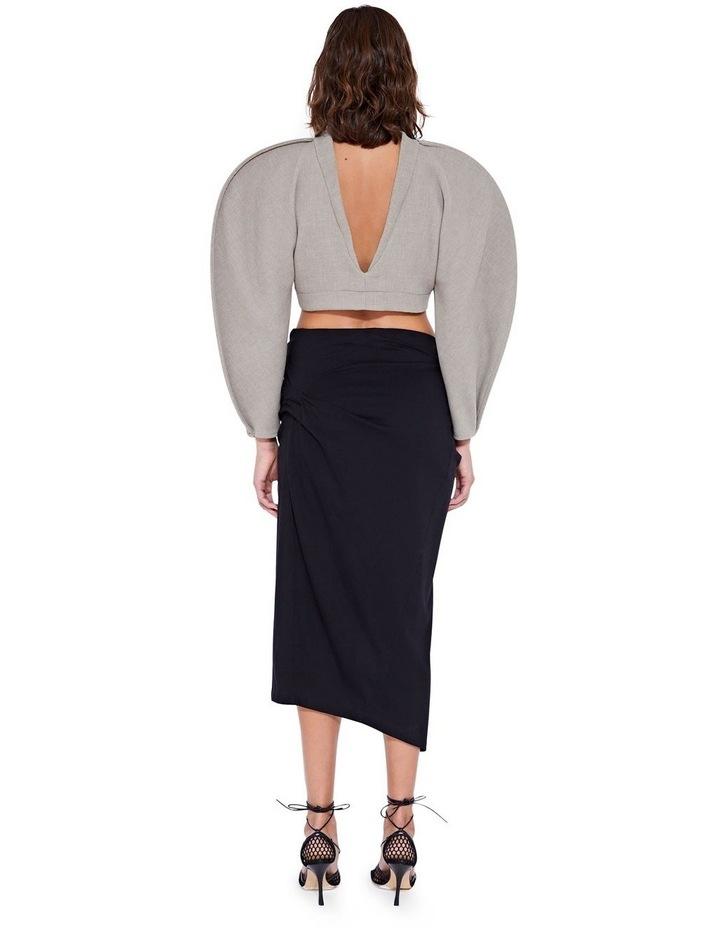 Laurel Twist Skirt Black image 2
