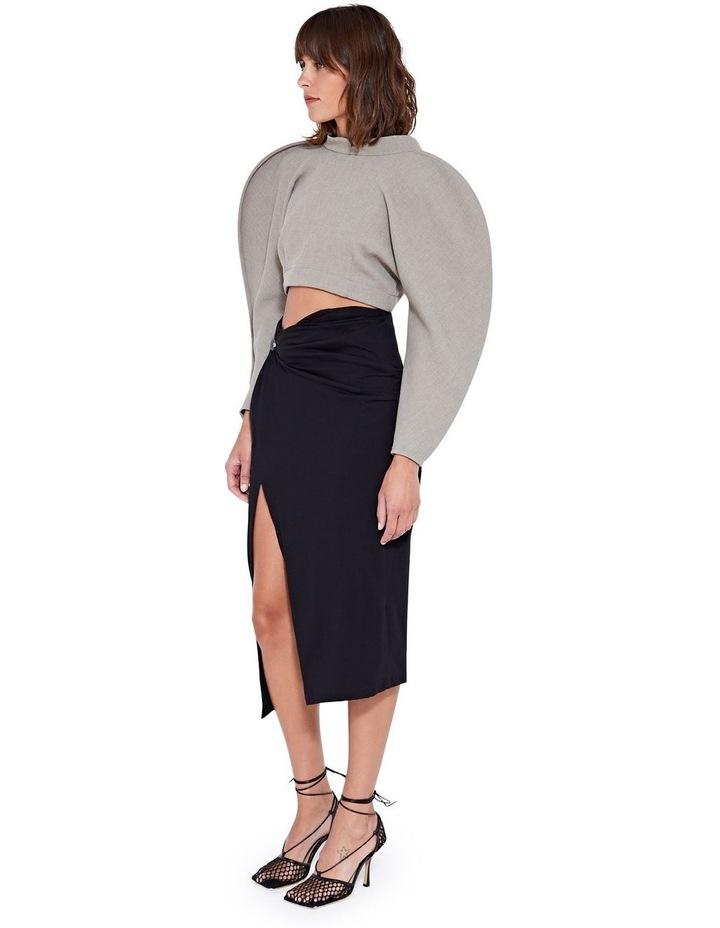 Laurel Twist Skirt Black image 3
