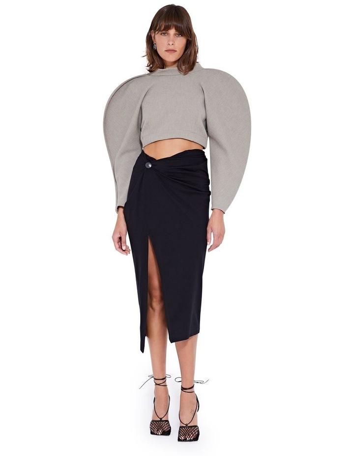 Laurel Twist Skirt Black image 4