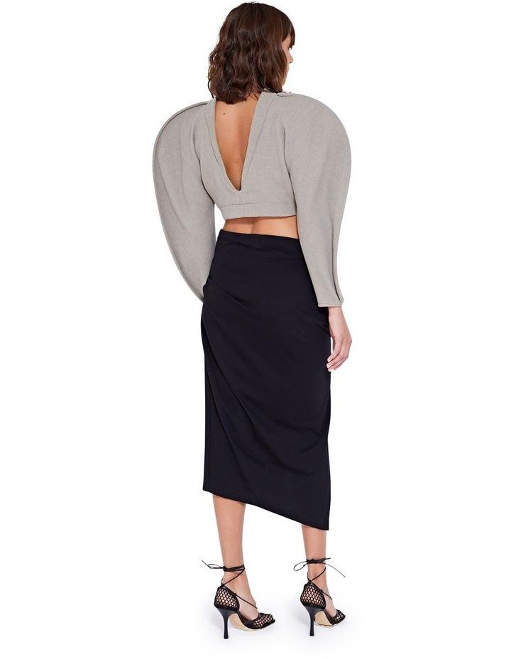 Laurel Twist Skirt Black image 5