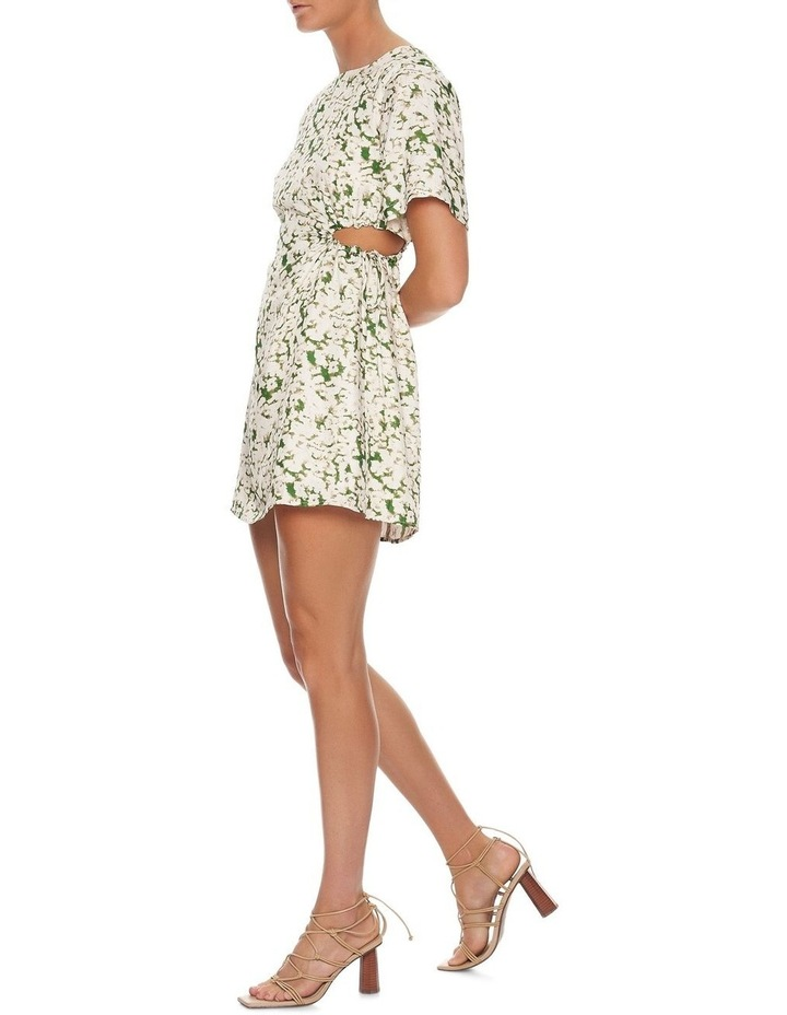 Pressed Flowers Draw Side Tee Dress image 3
