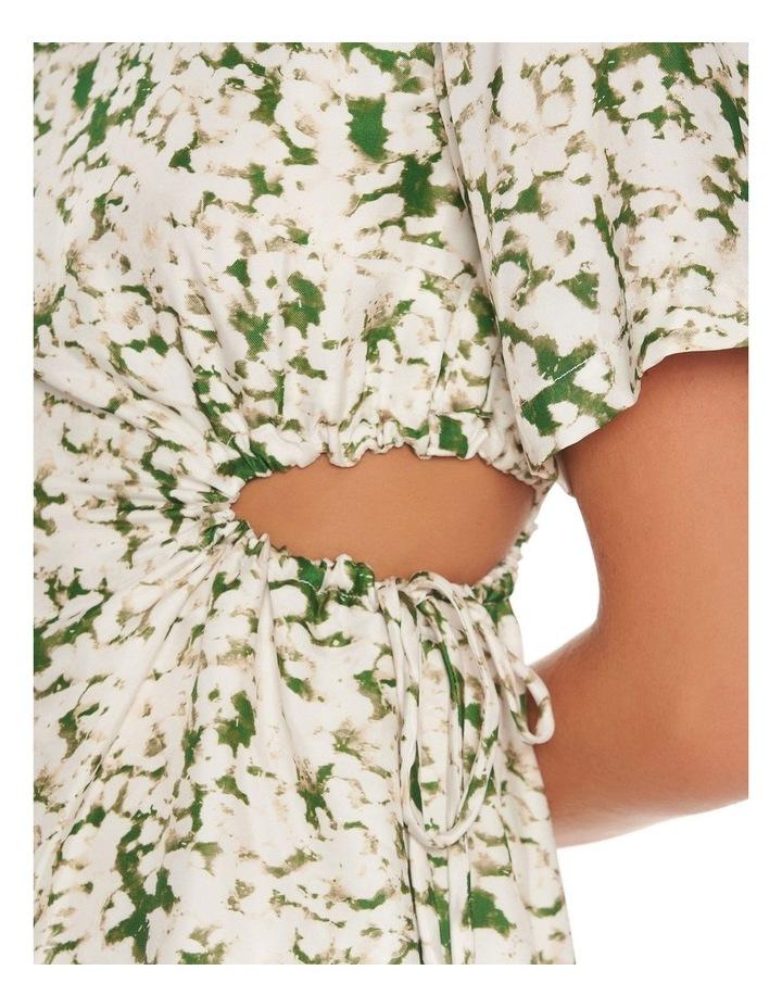 Pressed Flowers Draw Side Tee Dress image 5