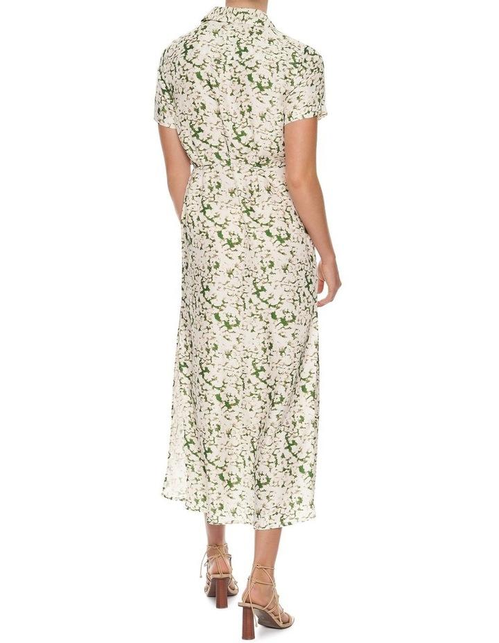 Pressed Flowers Maxi Shirt Dress image 4