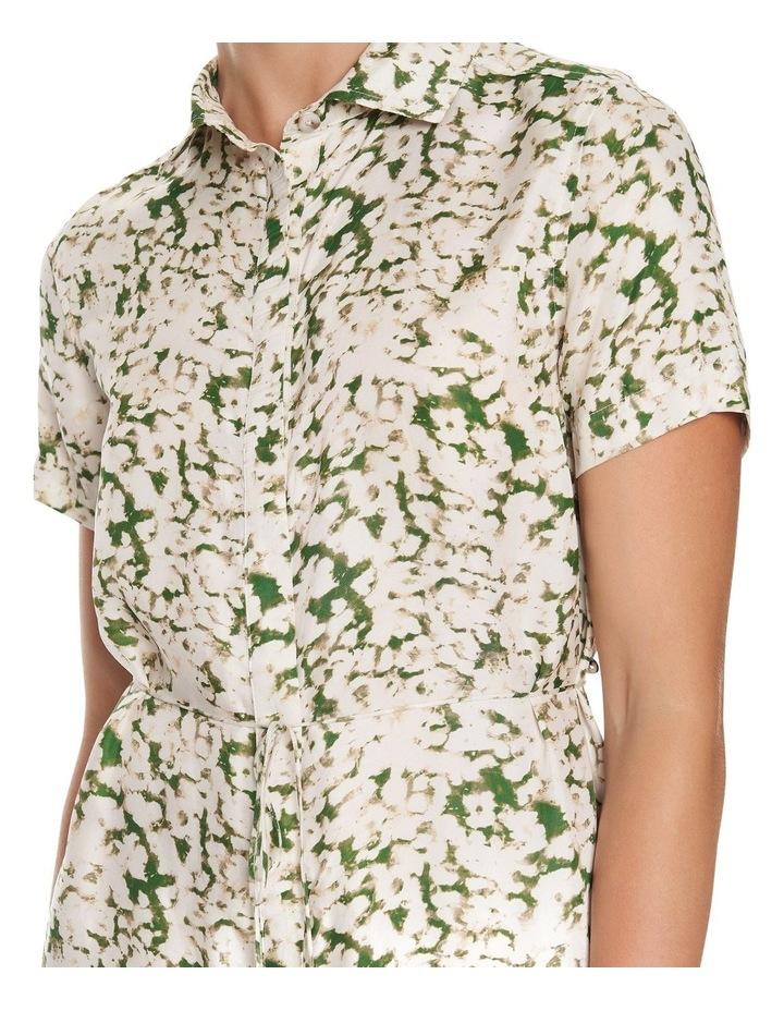 Pressed Flowers Maxi Shirt Dress image 5