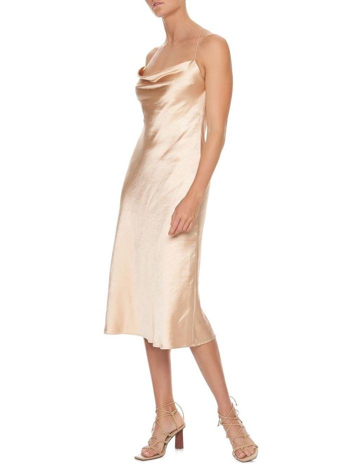 Cross Back Bias Slip Dress image 1
