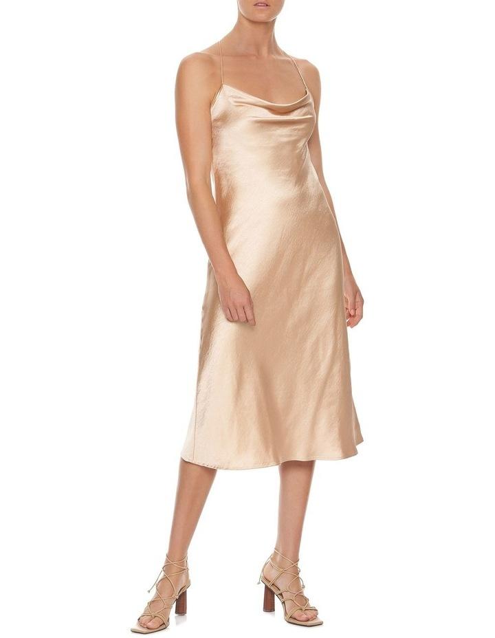 Cross Back Bias Slip Dress image 3