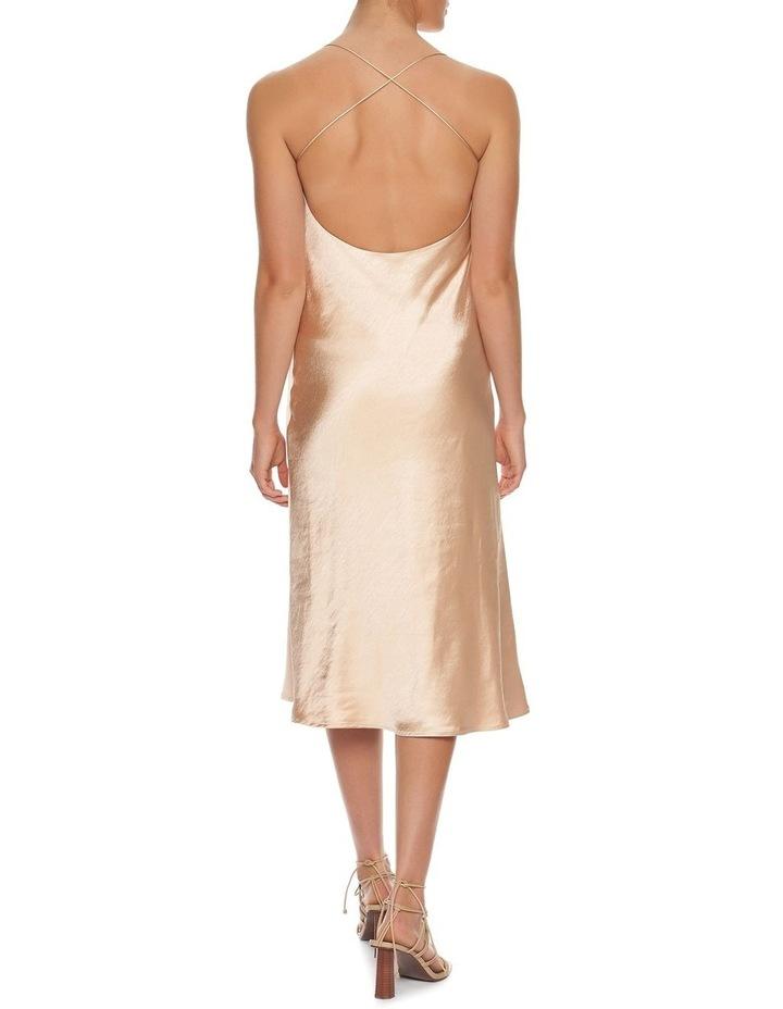 Cross Back Bias Slip Dress image 4