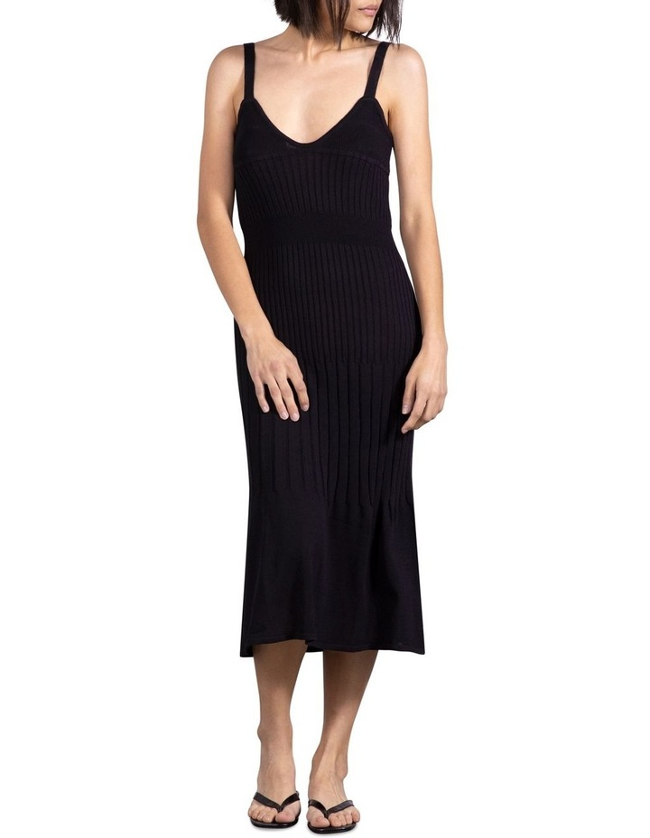 Flare Out Knit Slip Dress image 1