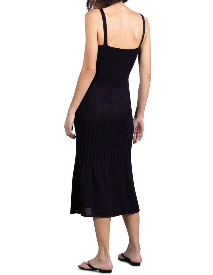 Flare Out Knit Slip Dress image 3