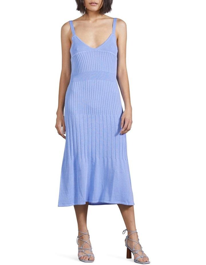 Flare Out Knit Slip Dress image 1