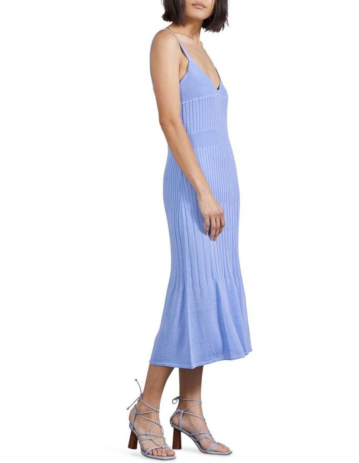 Flare Out Knit Slip Dress image 2