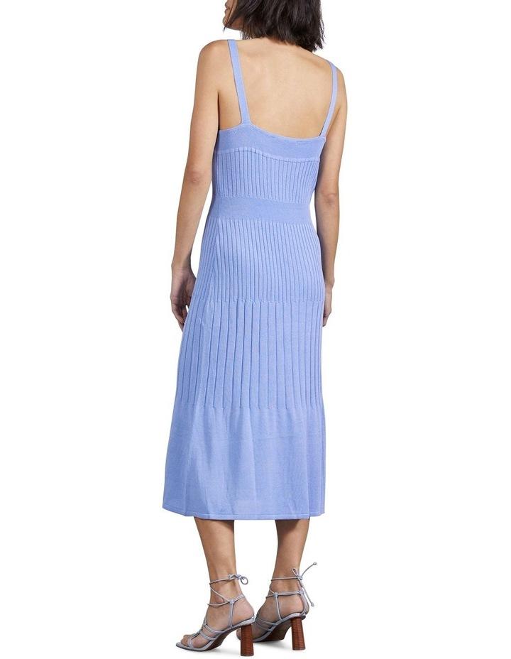 Flare Out Knit Slip Dress image 3