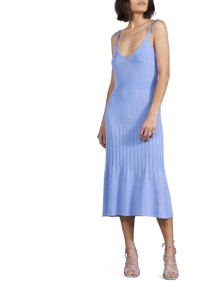 Flare Out Knit Slip Dress image 5
