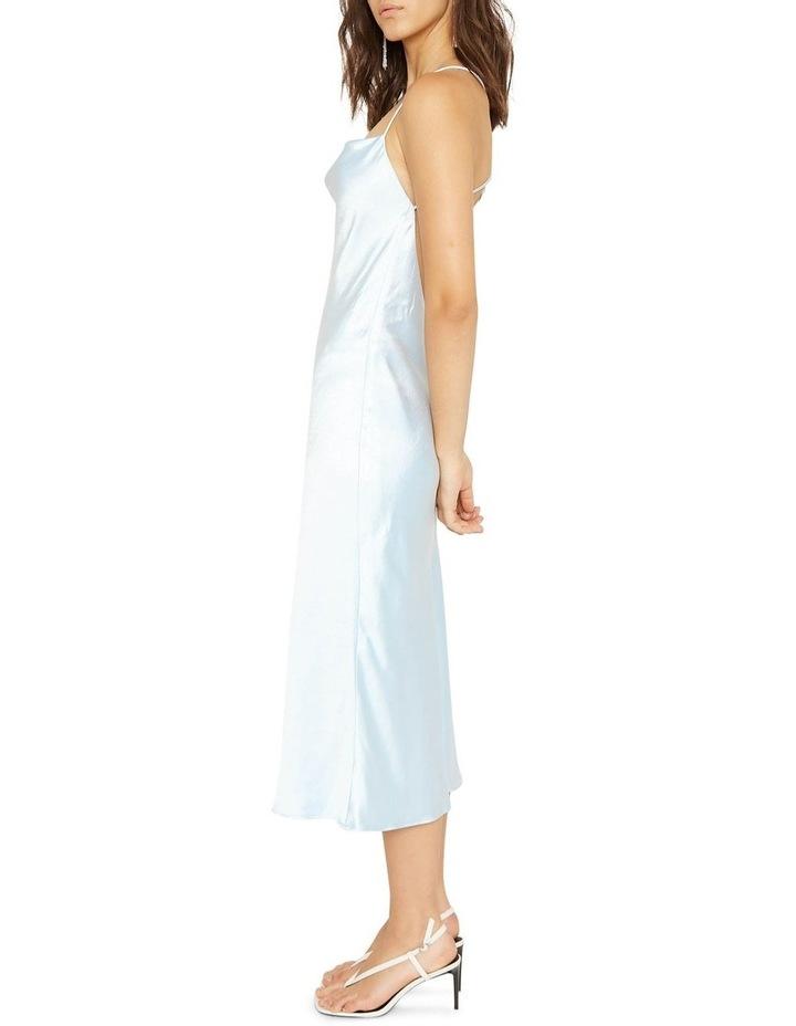 Cross Back Cowl Bias Slip Dress image 3