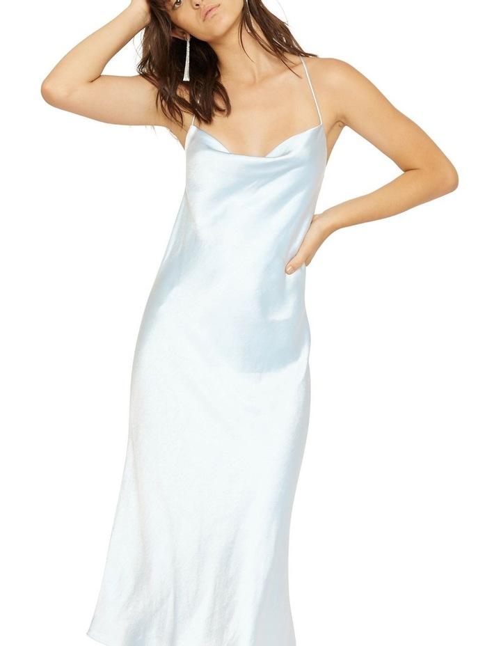 Cross Back Cowl Bias Slip Dress image 6