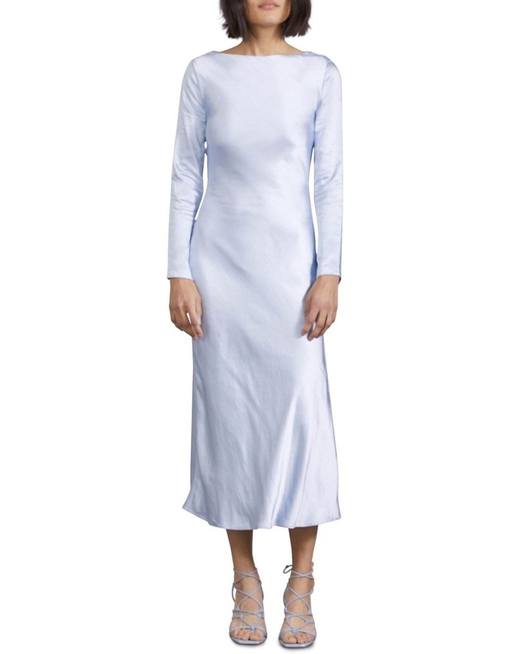 Tie Back Bias Maxi Dress image 1