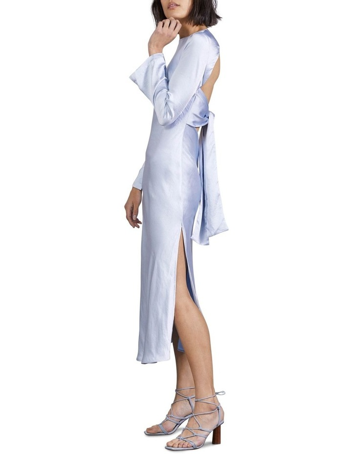 Tie Back Bias Maxi Dress image 2