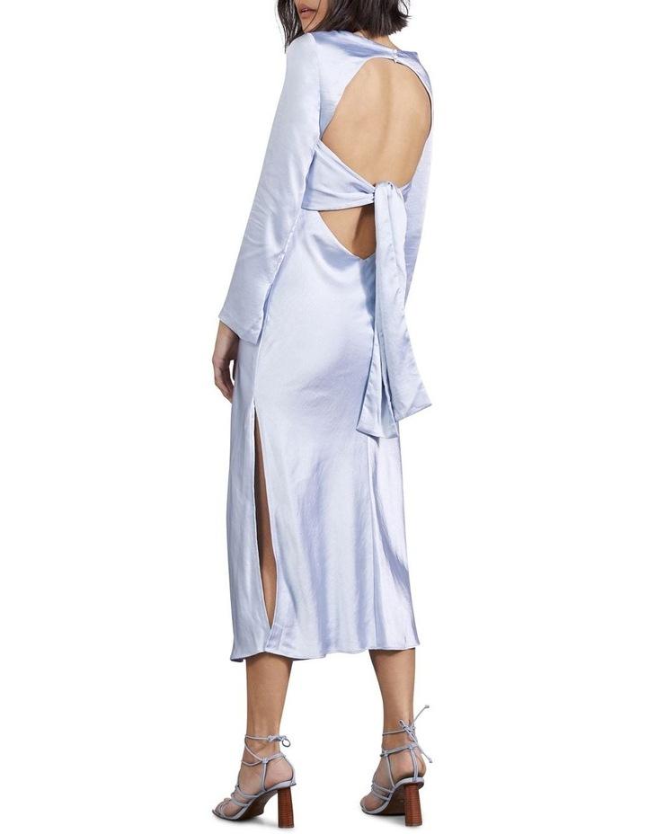 Tie Back Bias Maxi Dress image 3