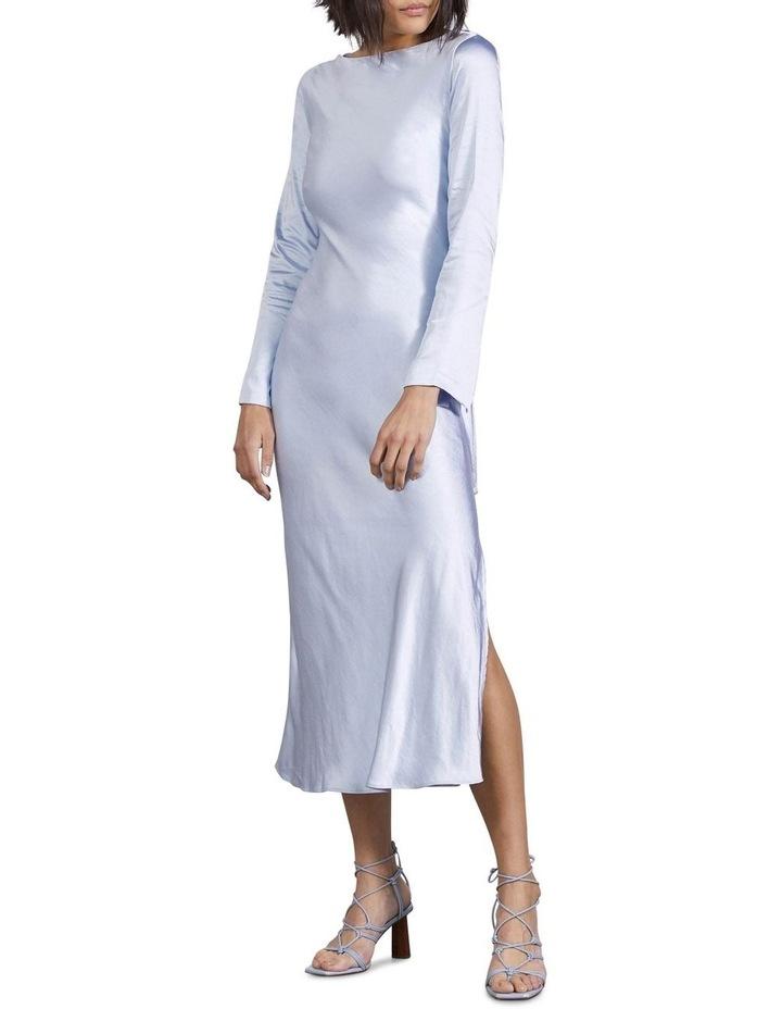 Tie Back Bias Maxi Dress image 5