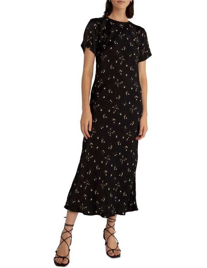 Night Blossom Bias Tee Dress image 1