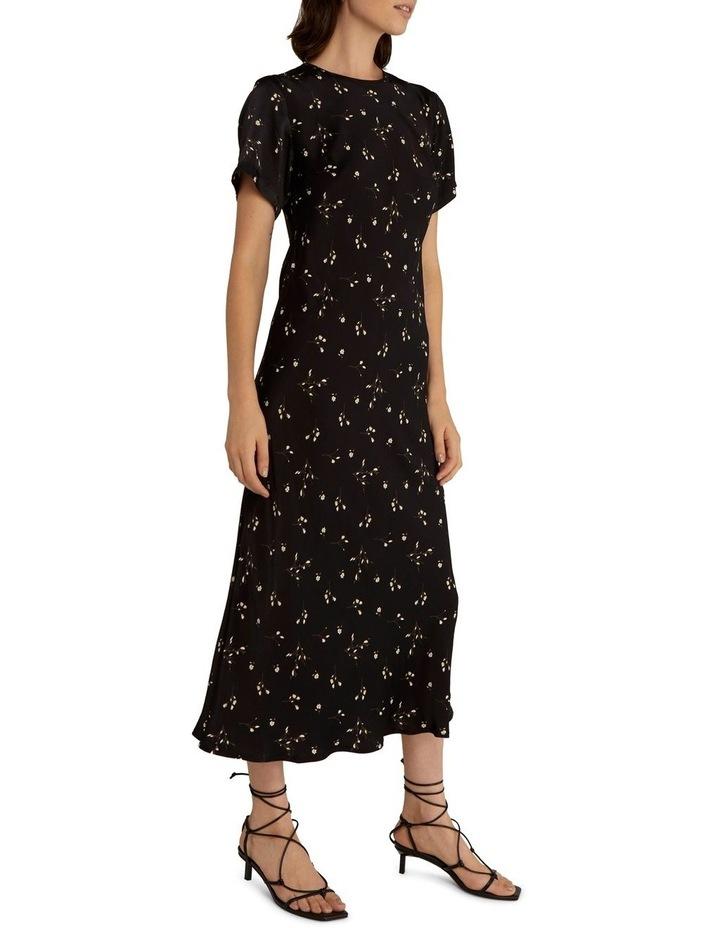 Night Blossom Bias Tee Dress image 2