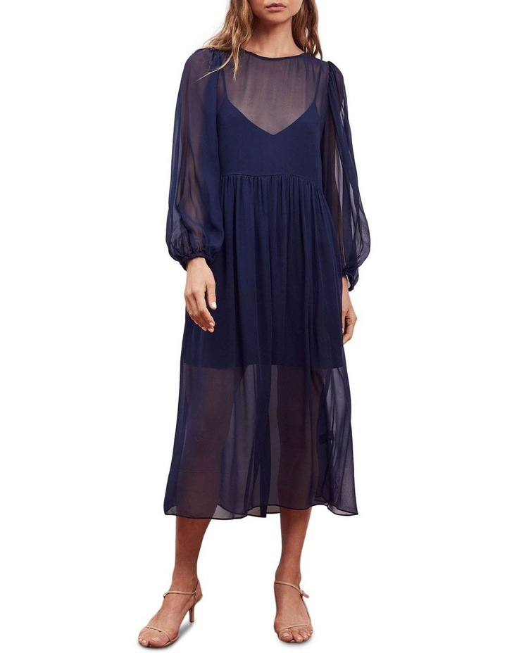Siesta Silk Midi Dress image 1