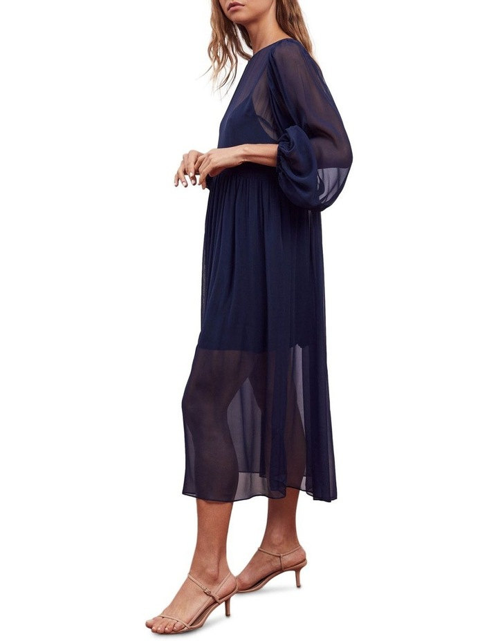 Siesta Silk Midi Dress image 3