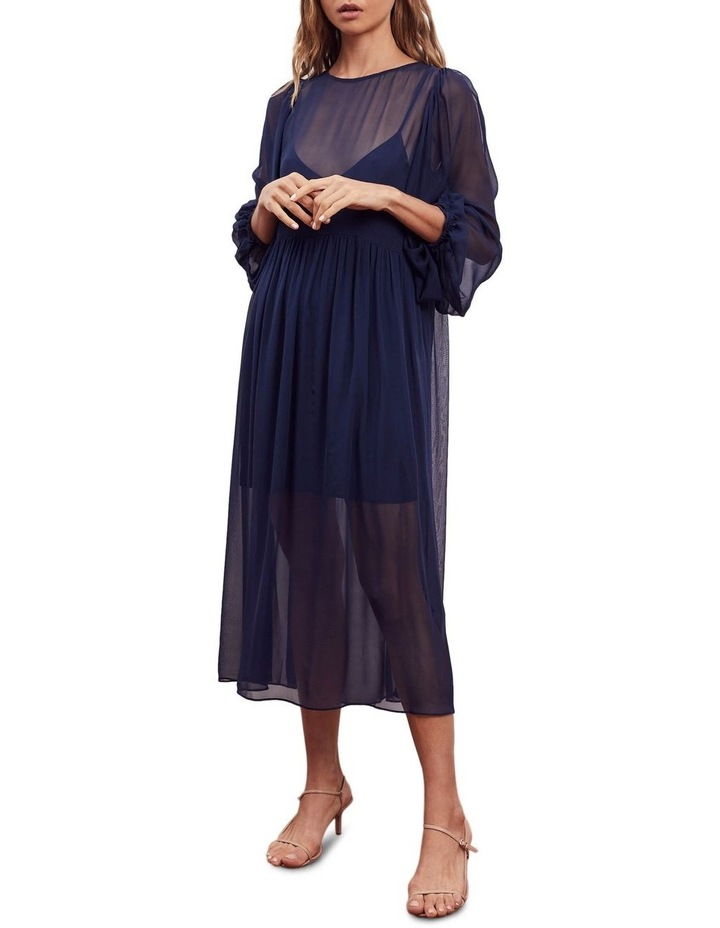 Siesta Silk Midi Dress image 5