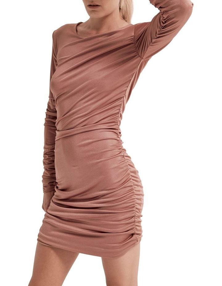 Lead On Long Sleeve Mini Dress image 3