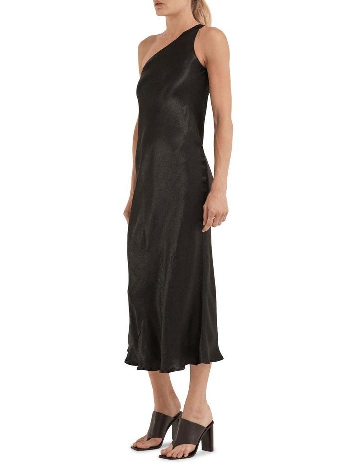 Running Water Bias One Shoulder Slip Dress image 3