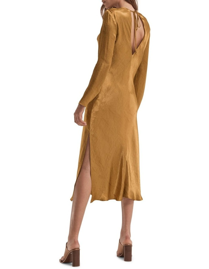 Running Water Bias Long Sleeve Dress image 2