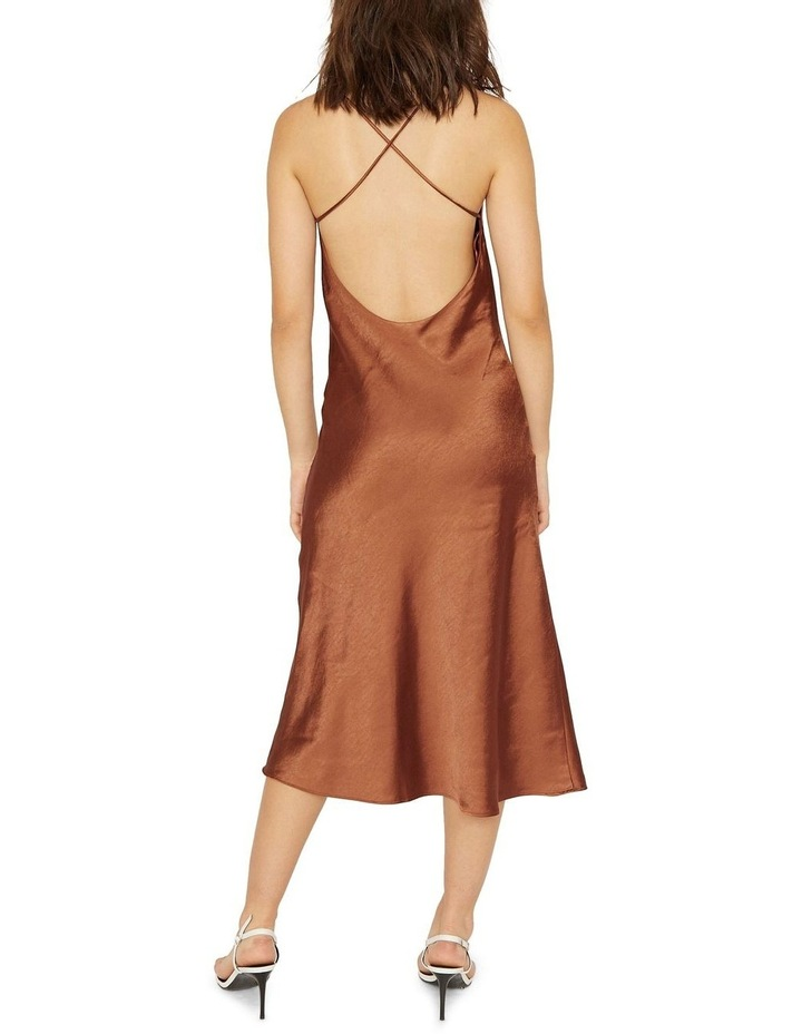 Cross Back Cowl Bias Slip Dress image 2