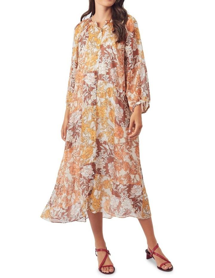 Carey Silk Midi Dress image 1