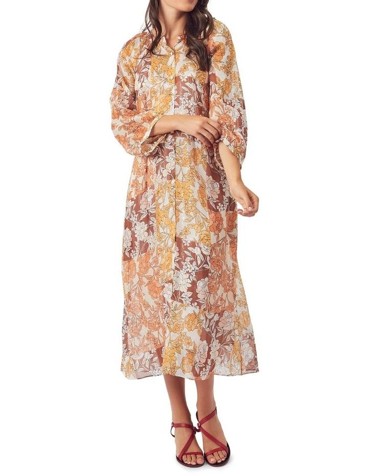 Carey Silk Midi Dress image 3