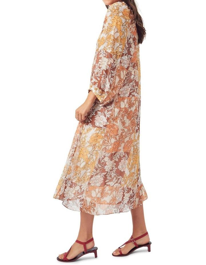 Carey Silk Midi Dress image 4