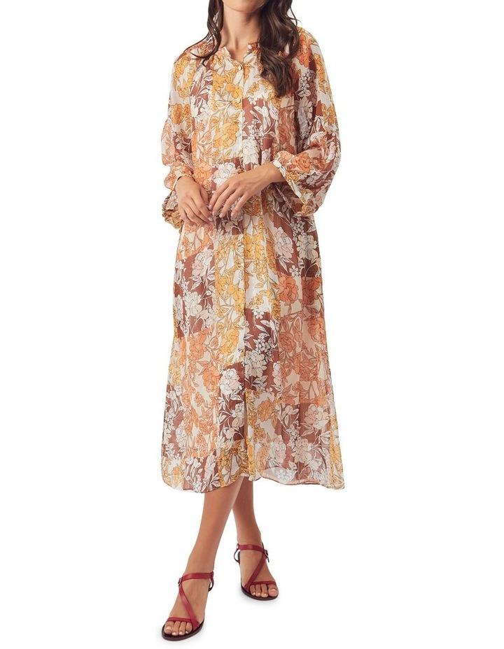 Carey Silk Midi Dress image 5