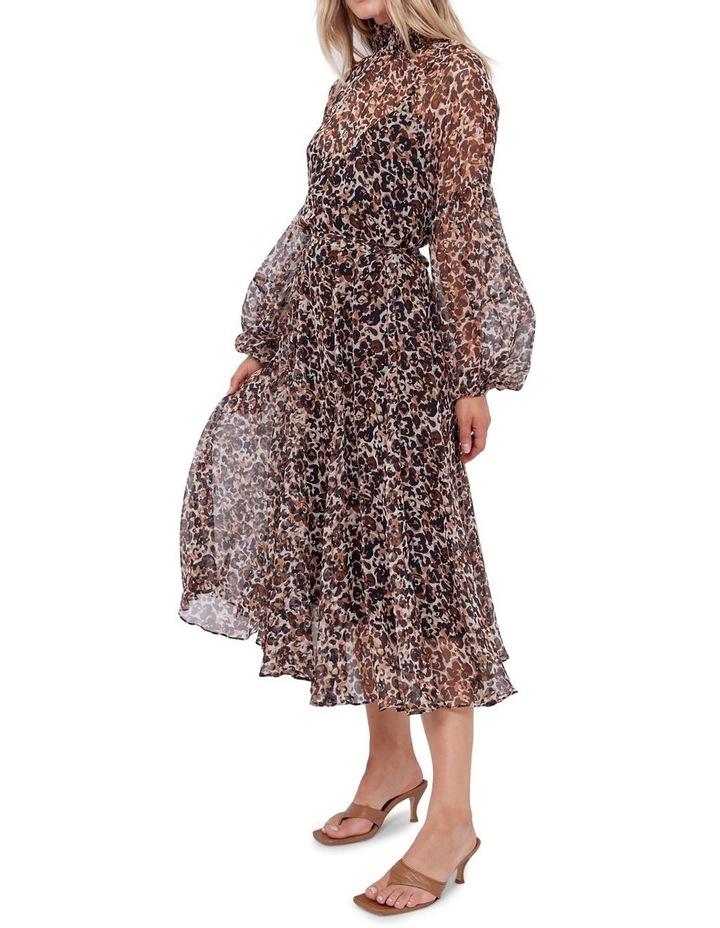 Aarons Silk Midi Dress image 1