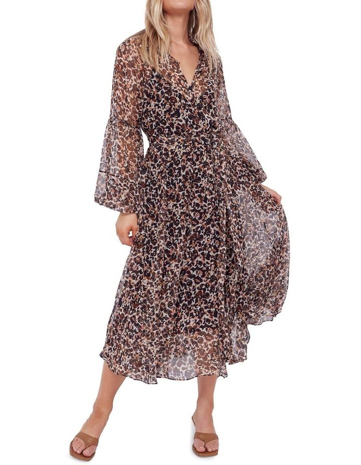 Aarons Silk Midi Dress image 2