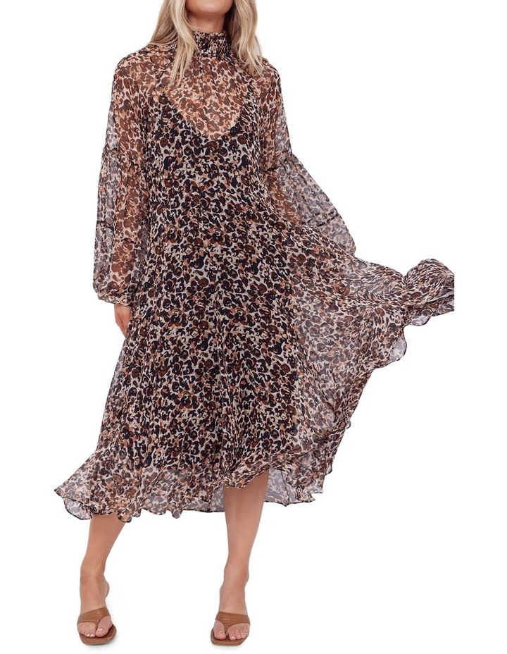 Aarons Silk Midi Dress image 3