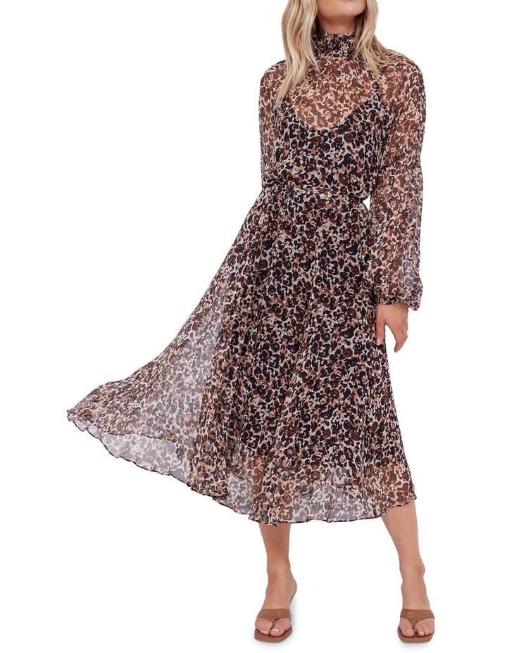 Aarons Silk Midi Dress image 4