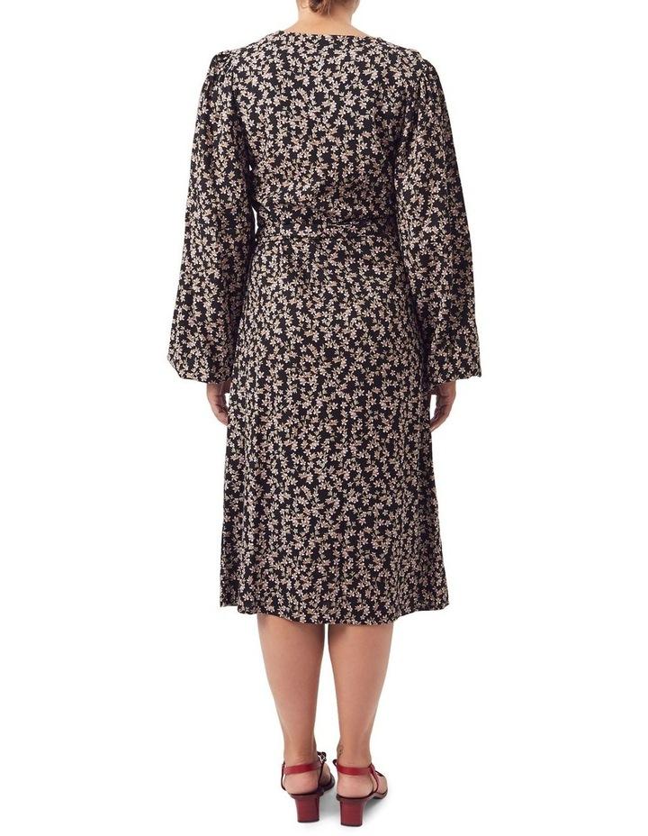 London Wrap Midi Dress image 2