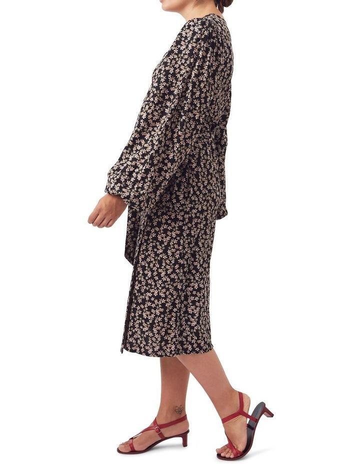 London Wrap Midi Dress image 3