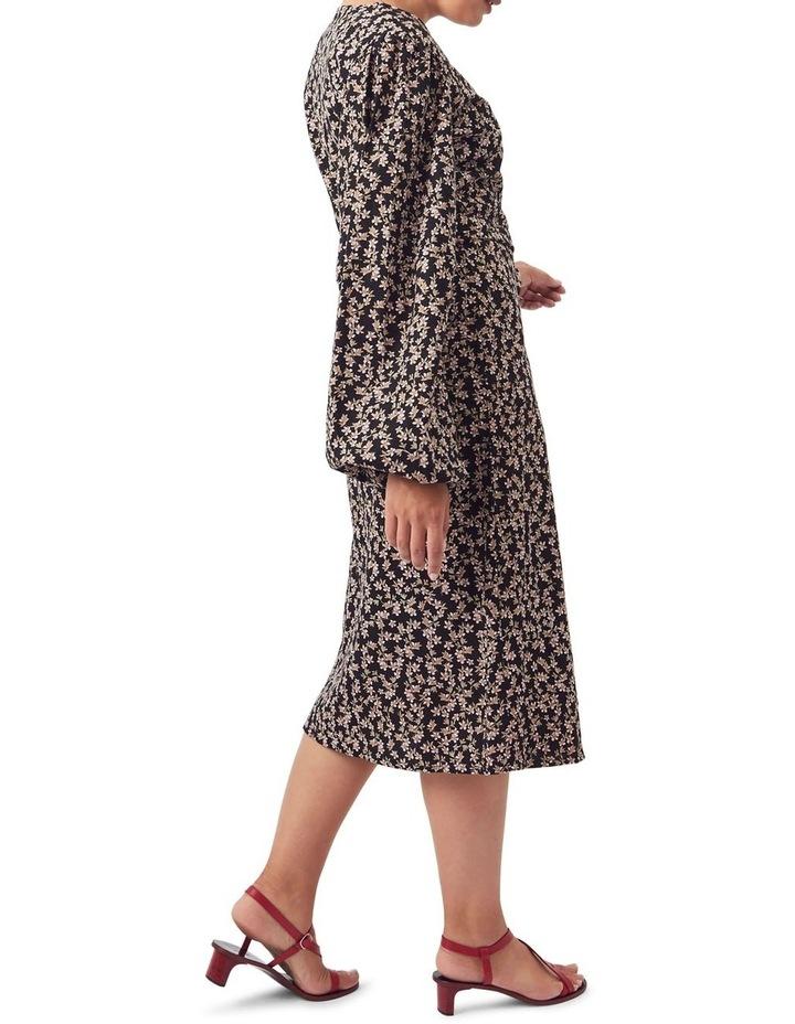 London Wrap Midi Dress image 5